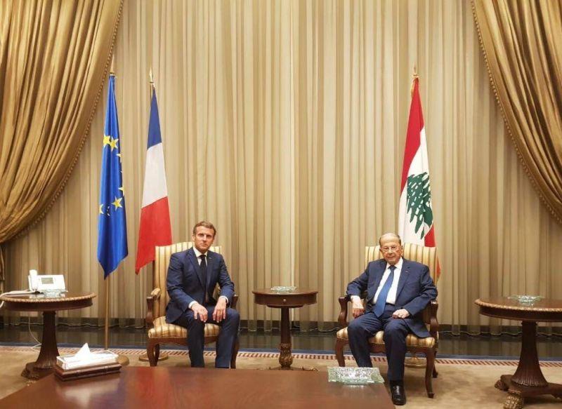 Macron se précipite à Beyrouth - Afrique Confidentielle